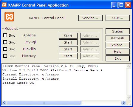 Cara Mengatasi Xampp Error atau tidak running